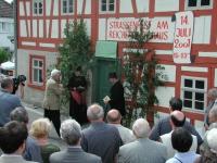 2001 Einweihungsfeier