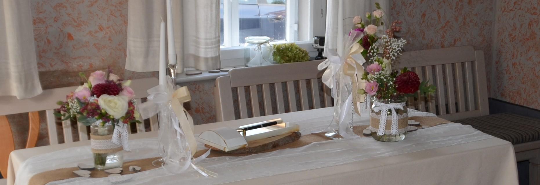 1. Standesamtliche Hochzeit im Reichenbach-Haus