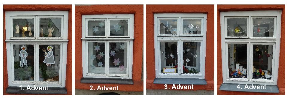 Adventsfenster im Reichenbach-Haus