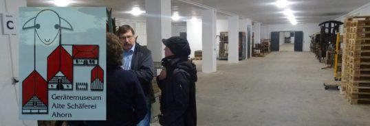 Das Gerätemuseum Ahorn hat in Grub ein Depot
