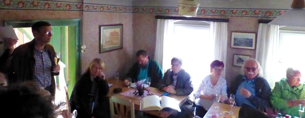 Besuch aus Mittelfranken im Reichenbach-Haus