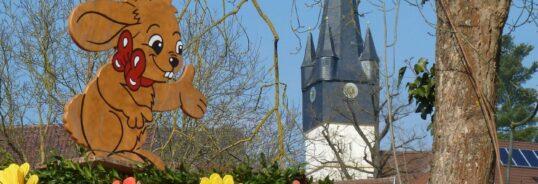 Besuch des Osterhasen im Reichenbach-Haus
